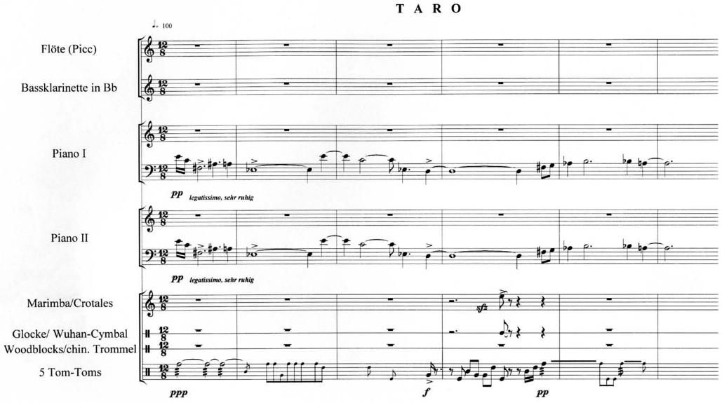 Taro Beginn