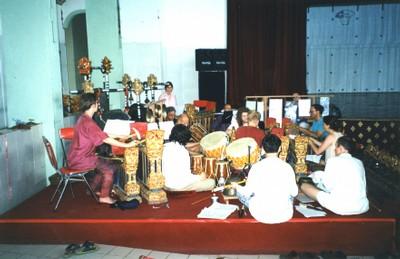 """""""Catur""""-Probe auf Bali 1998"""